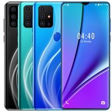 Version mondiale S20 PLUS Smartphone Android 6.7 pouces téléphone portable double SIM téléphone Mobile 3G téléphones intelligents portables visage déverrouillage combiné