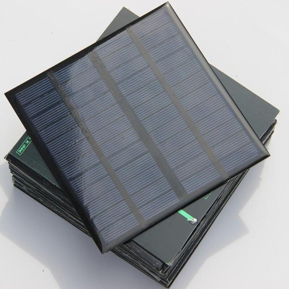 Panel Solar policristalino de 3W 12V, sistema de cargador de batería Solar, kits educativos Epoxy 1 Uds