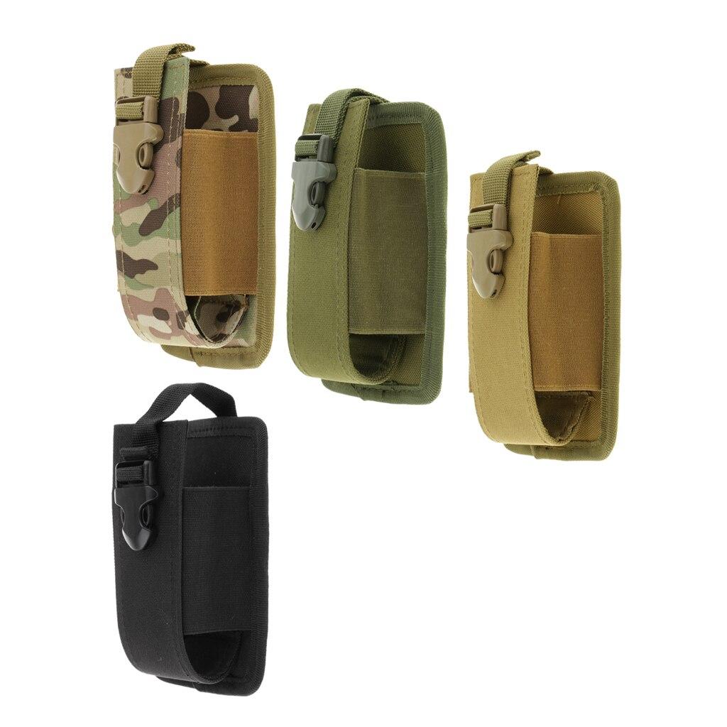 Новая сумка-держатель для радио и рации Molle, сумка-кобура, большая сумка для охоты на открытом воздухе, Сумка для кемпинга и стрельбы