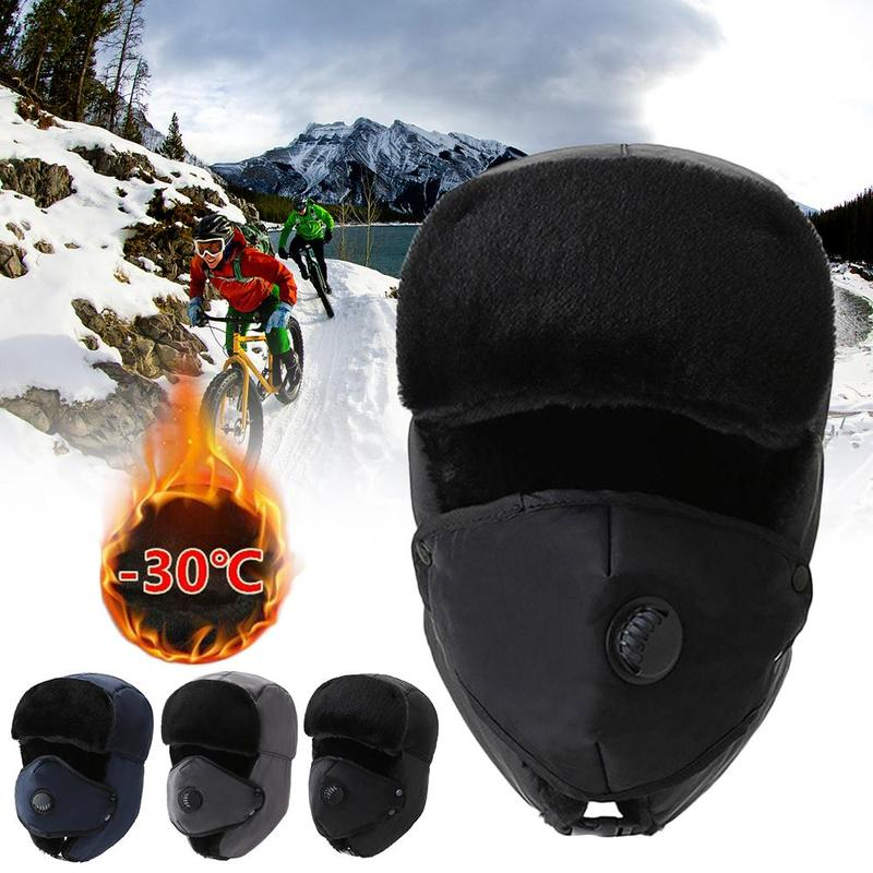 2020 Autumn And Winter Fashion Warm Outdoor Cycling Cold And Warm Lei Feng Hat Men And Women Riding
