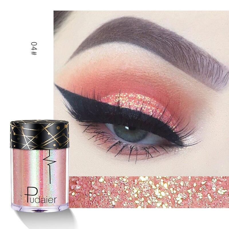 Shiny Ray Holographic Sequins Glitter Shimmer Pigment Eye Shadow Tattoo Lip Nail Body Glitter Festiv