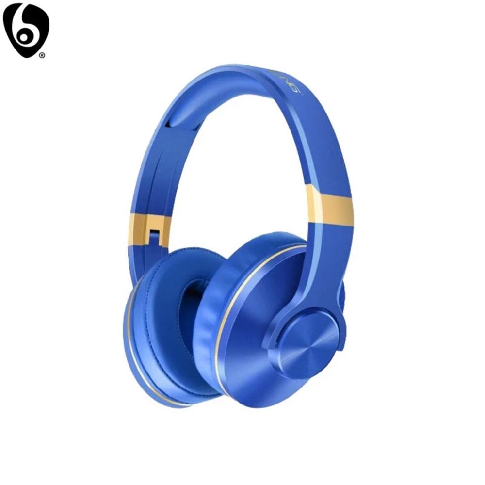 OVLENG BT-808 Wireless Headphone Bluetooth Earphone with Mic & Speaker for Smart Devices Support Micro SD/TF Card Adjustable