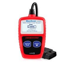 Оригинальный MS309 OBD2 сканер многоязычный Автомобильный сканер диагностический инструмент для двигателя ODB 2 EOBD MS309 автоматический диагностический инструмент для сканирования
