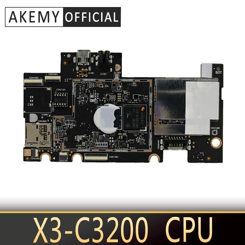 Z380c tablet placa-mãe para asus zenpad 8.0 (z380c) z380cx z380cg teste original mainboard 16 gb ssd 2 gb ram X3-C3200 cpu