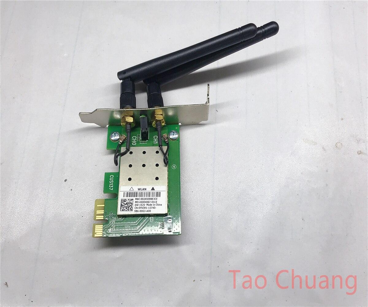 Para Dell dw1525 Atheros ar5bdt92 wifi inalámbrico PCIe tarjeta SFF