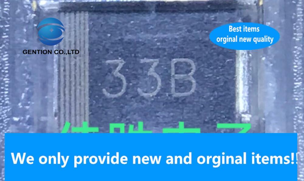 30 Uds 100% nuevo original SMB3EZ22 3W22V SMD regulador de tensión DO214AA pantalla de seda 33B