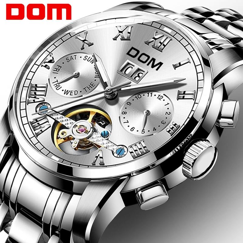 Relojes mecánicos deportivos para hombre, reloj resistente al agua, marca de lujo, reloj de pulsera a la moda para hombre, reloj rolex_watch