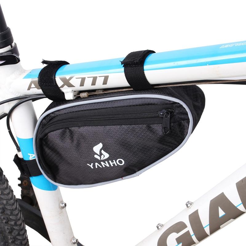 Bolsa triangular para Bicicleta de montaña, accesorio para bici