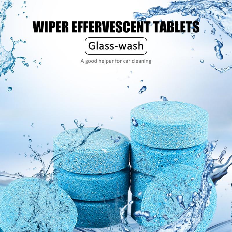 Автомобильный очиститель для мытья стекла на лобовое стекло Многофункциональный концентрат шипучие планшеты Чистка дома очиститель туалета