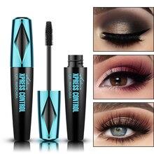 Mascara noir cils Mascara 4D cils soyeux allongeant les cils maquillage Mascara imperméable Volume yeux cosmétiques