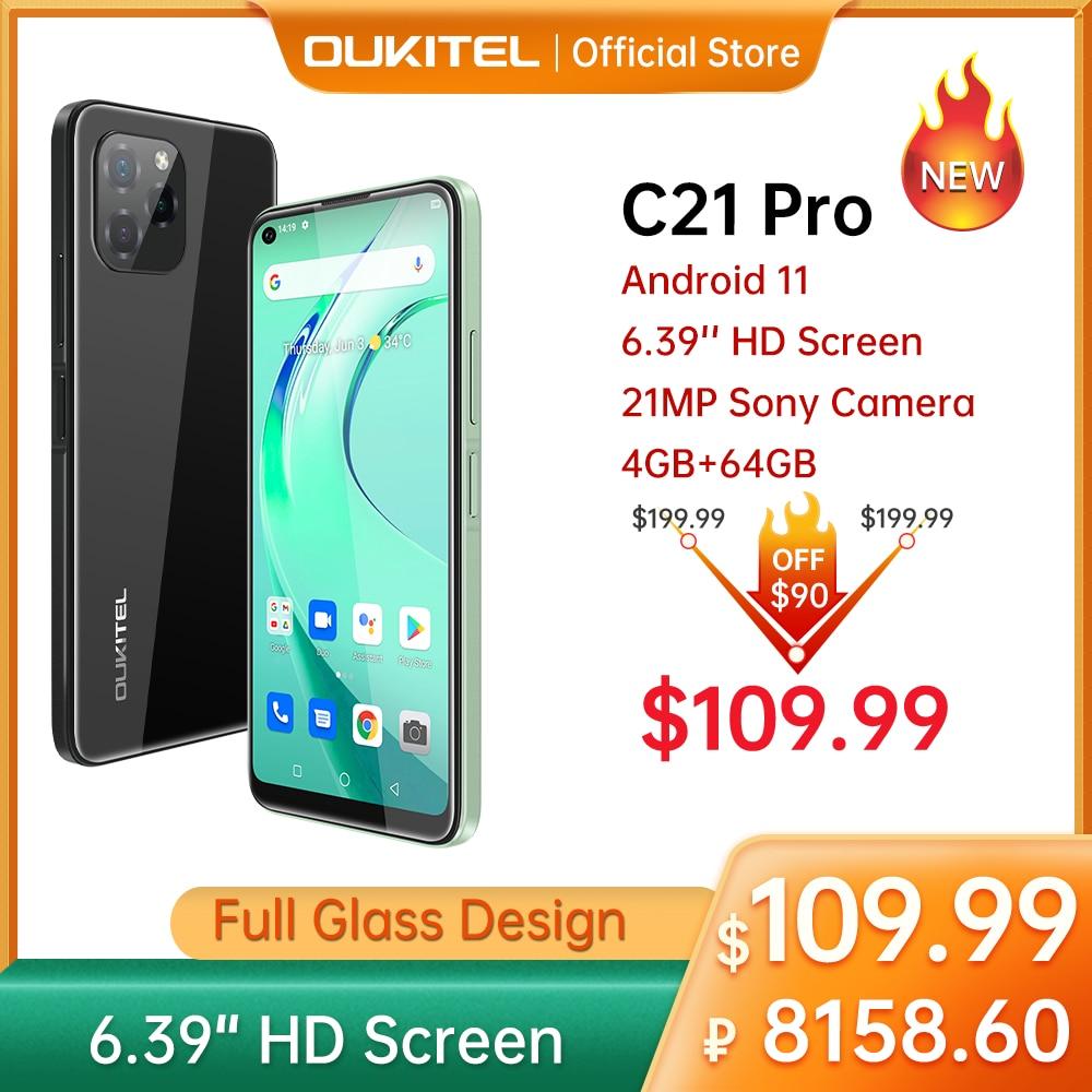 [In Stock] Oukitel C21 pro Smartphone 4GB 64GB 6.39