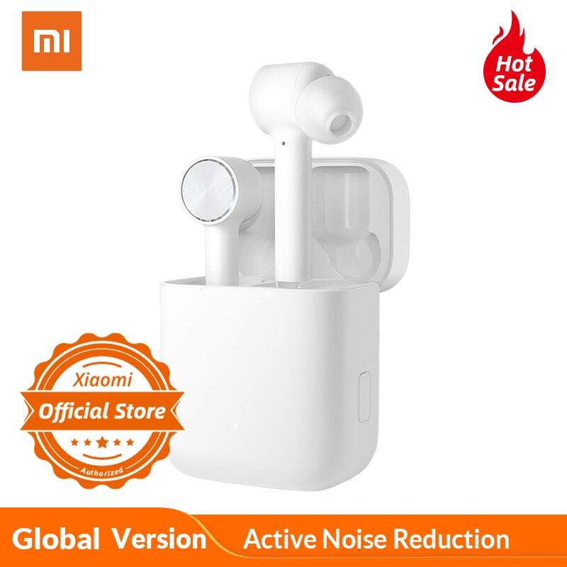 Versión Global xiaomi auricular Bluetooth aire ANC ENC reducción activa de ruido dos toques de Control inalámbrico auriculares AAC Sonido hd