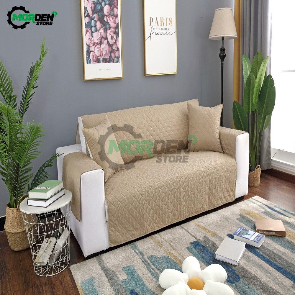 Fundas de sofá antideslizantes a prueba de agua para perros y mascotas de 55x196cm, fundas reclinables para sofá, Protector de muebles de sillón