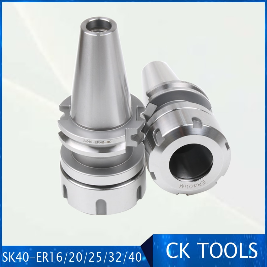 high precision SK40 ER32 ER40 Tool Holder din69871 CNC machine Drill Chuck Toolholder Milling cutter collet chuck