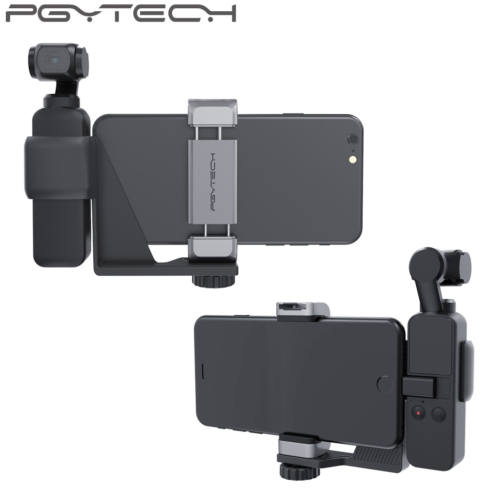 PGYTECH OSMO Pocket Phone Holder Set for DJI OSMO Pocket 2 Handheld Gimbal Holder Bracket Accessories
