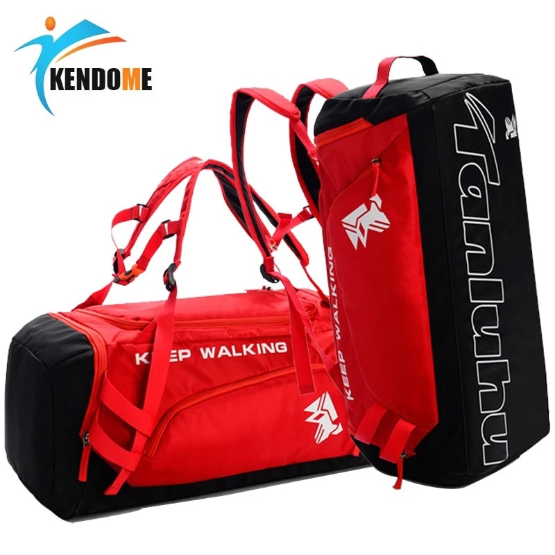 Sports Gym Bag Waterproof Sports Bags for Men Fitness Women Yoga Training Handbag with Shoe Compartm