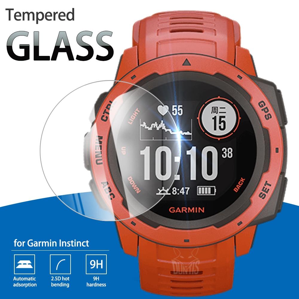 Garmin Instinct / Instinct Sport/Instinct Tij Gehard Glas Volledige Cover Screen Protector Voor Instinct Solar Bescherming Film