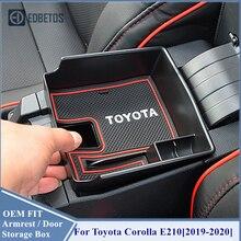 Corolla E210 Car Storage Organizer Corolla E210 Armrest Storage Box Container For Toyota Corolla E210 2019 2020 Accessories Box