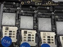 Téléphone portable pratique endommagé carte mère de ferraille avec NAND pour iPhone 8 8P X expérience de réparation compétence de formation