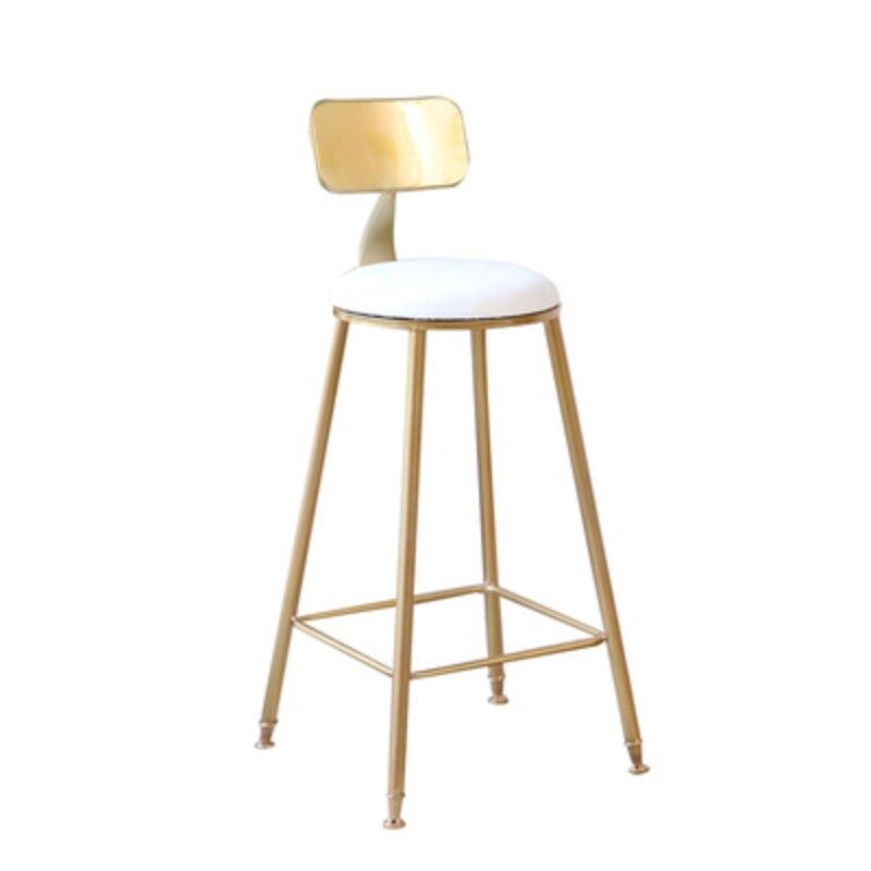 Регулируемые барные стулья, простые современные стулья из натуральной кожи в скандинавском стиле, кованые стулья из Пномпеня, высокий стул,...