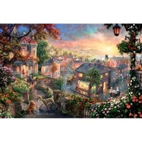 gatyztory frame fairy world paint by numbers for adults kids handpainted oil painting canvas drawing diy gift home wall decor