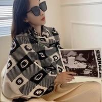 luxury winter wool scarf cashmere thick soft warm pashmina scarves female shawl wraps bufanda echarpe hiver cicartiz invierno
