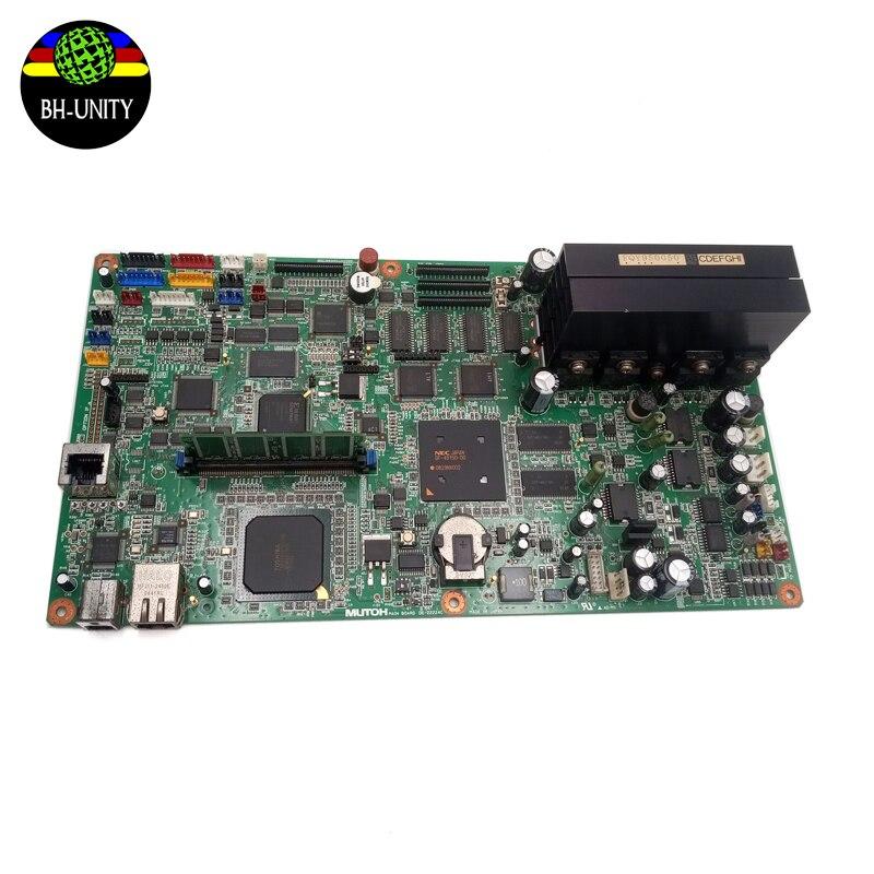 Original Mutoh VJ1204 Tablero Principal Assy DE-22224C para Mutoh VJ-1204 VJ-1304 VJ-1604 impresora DX5 impresión de la placa madre