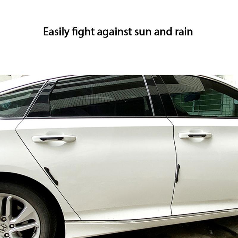 Tira anticolisión para el coche, Protector de la puerta del coche, Protector de Borde de puerta, de estilo moldura, adhesivo antiarañazos, accesorios para el coche