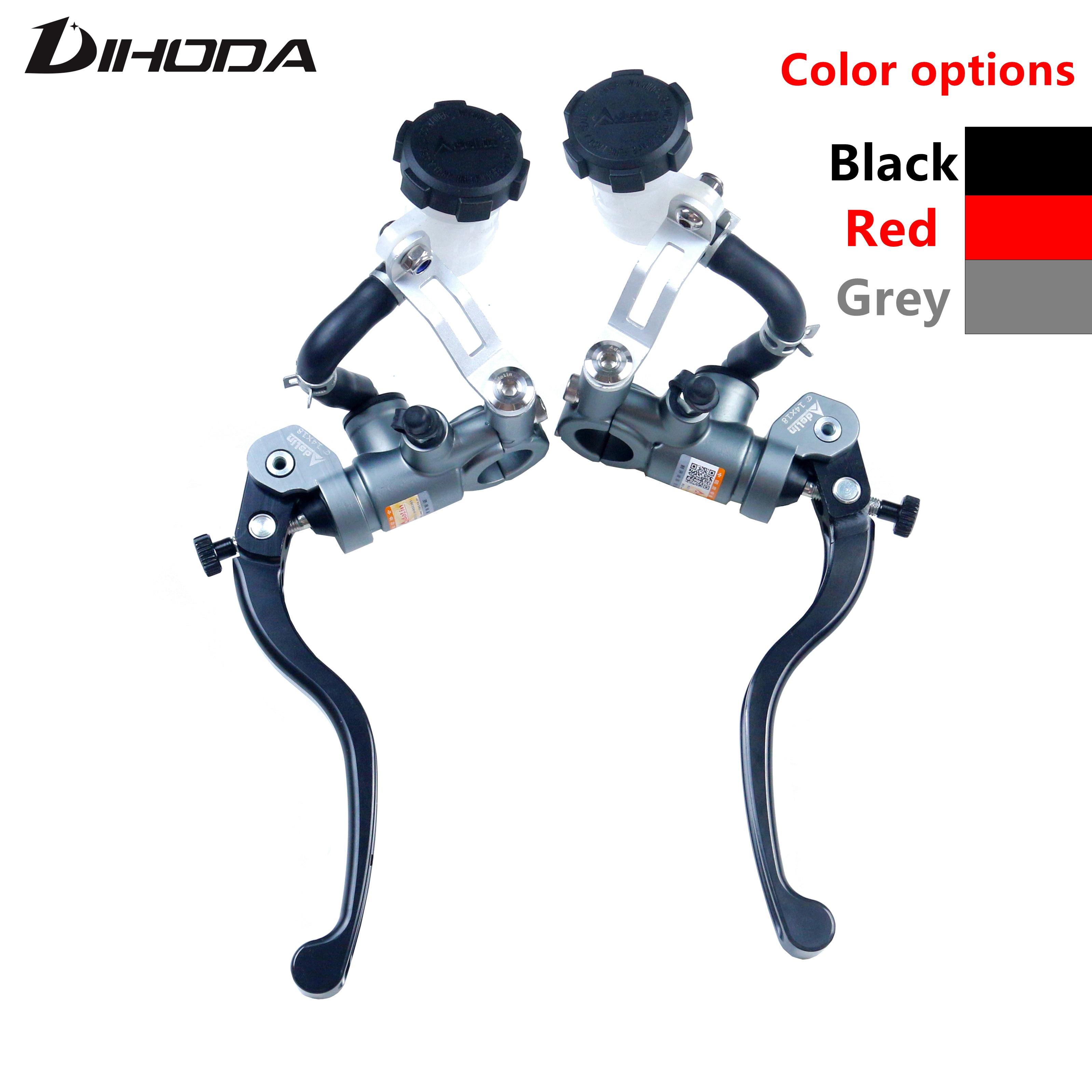 Original Adelin PX1 Racing motorcycle brake clutch pump master cylinder lever handle 14mm 15mm For Kawasaki Yamaha Honda R6 Fz6