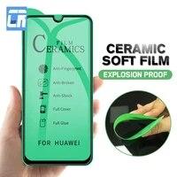 anti fingerprint soft ceramic film for huawei p30 p20 lite y9 y7 y6 y5 2019 nova 4 5t p smart z 2019 screen protector matte film