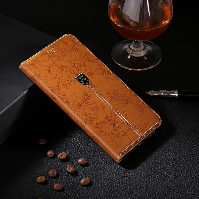 Funda de cuero de lujo para LG K7/Tribute 5 LS675 X210 X210DS funda de teléfono Original tapa soporte Capa Coque bolsa