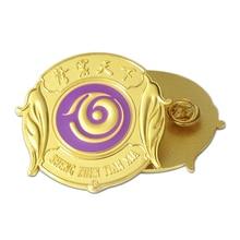 Insigne de broche en métal personnalisé insigne dor galvanisé de haute qualité insigne de broche 3D pas cher