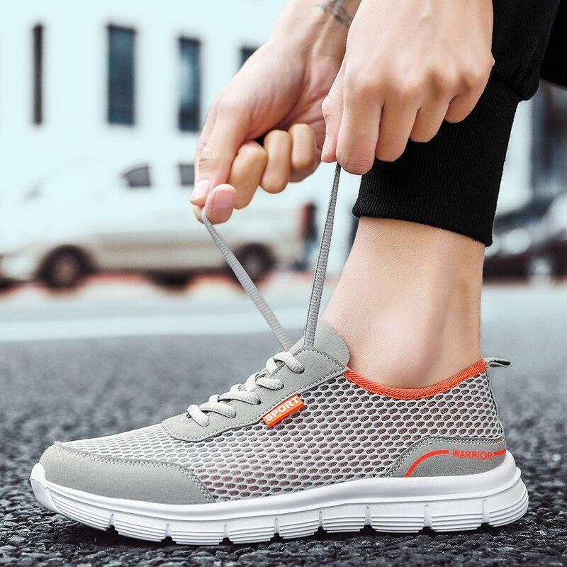 Мужская обувь новая мягкая повседневная обувь, легкая недорогая сетчатая обувь, мужская спортивная обувь, модная дышащая обувь для тенниса