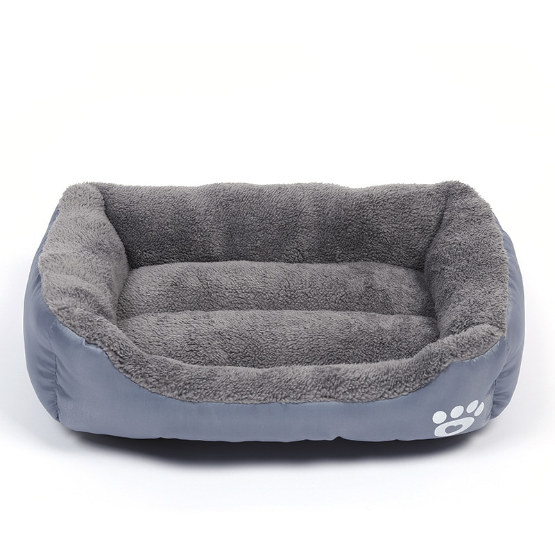 WHPC al por mayor cama para mascotas pequeña y grande casa para perros gatos nido para perros suave perrera impermeable para cachorros de perro todas las temporadas