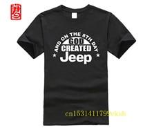 JEEP et le 8th jour dieu a créé Jeep hommes unisexe t-shirt femmes drôle blackmercedes de