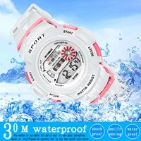 synoke watch hot sale 30m waterproof children sports boys girls led digital watches kids running clock casual watchwrist relogio