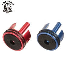 SHS CNC en aluminium Double joint torique en caoutchouc Type Piston culasse ajustement AEG Airsoft Ver.2/3 boîte de vitesses pour accessoires de Paintball