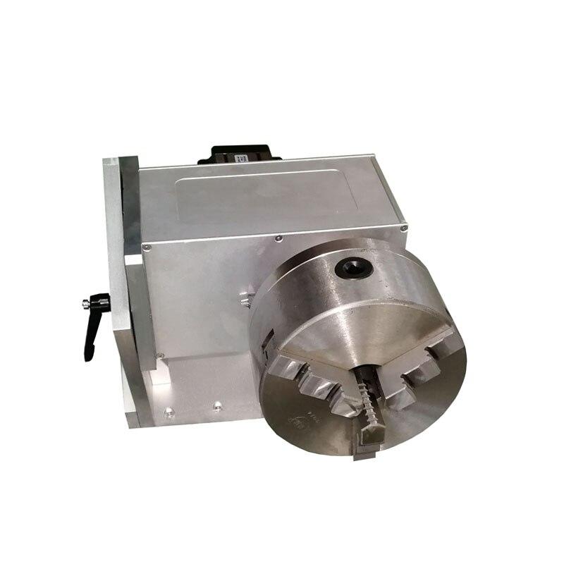 Dispositivo rotativo D160 de 160mm para máquina de marcado láser para fijar tazas de botellas de objeto cilíndricas