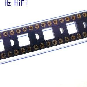 Высококачественное позолоченное круглое отверстие DIP-8, 8-контактный разъем 2, 54 мм для OPA627 LME49720 AD797 LME49710
