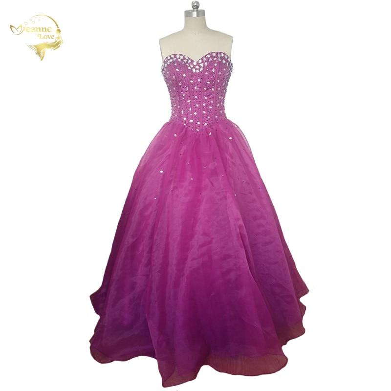 Novo vestido de baile para 15 anos baratos quinceanera vestido de cristal espartilho doce 16 vestido de baile quinceanera vestido 2020 vestidos de 15