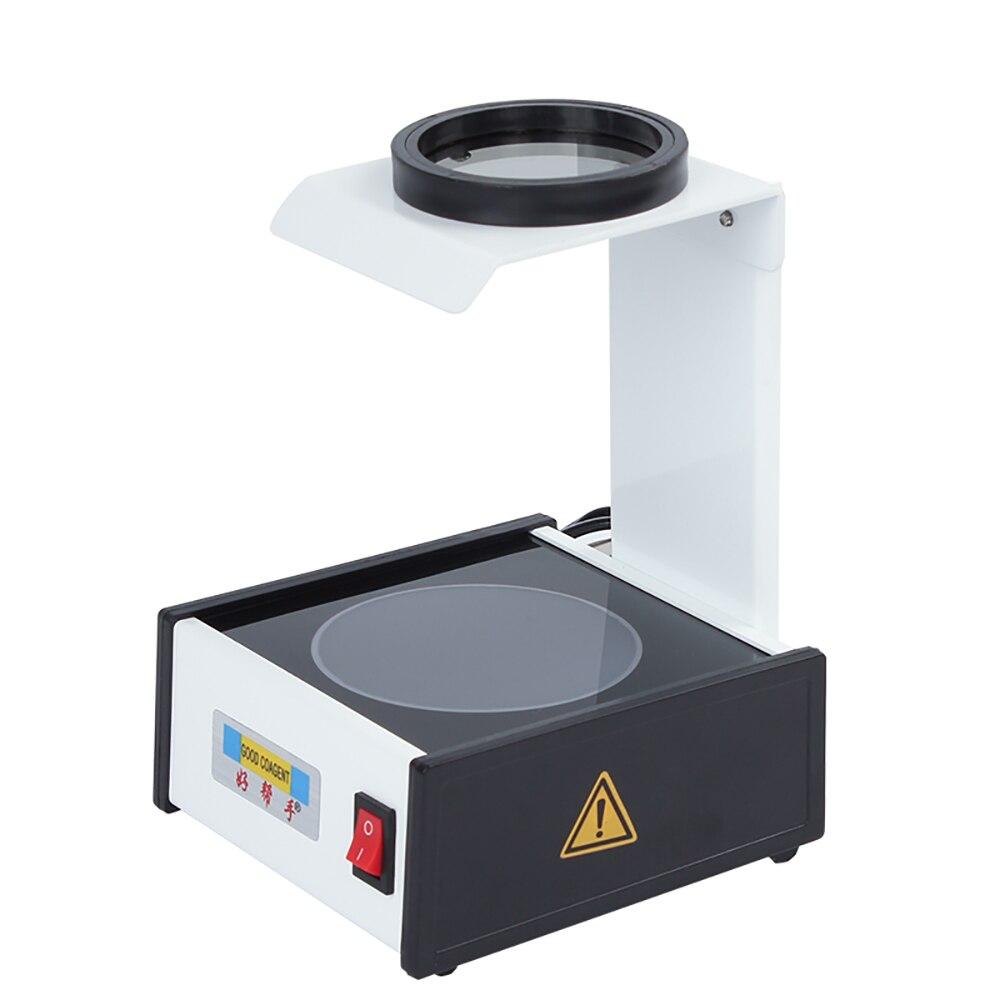 Optical Polariscope Lens Stress Tester Machine Strain Gauge Crystal Lens Detector CP-12