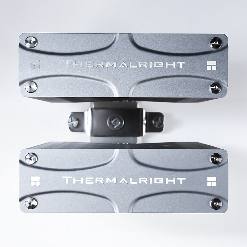Thermalright FC140 Dual Tower CPU Cooler radiator With 140mm PWM fan 4PIN RGB For intel 115x 2011 2066 AM4 Computer CPU Cooler enlarge