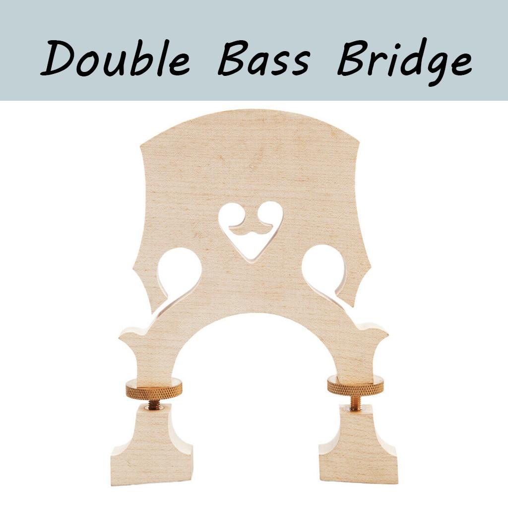 Adjustable Standard Bridge Bass Violin Bridge Double Bass Bridge Standard Maple 1/2 3/4 4/4 Double Bass Bridge adjustable standard bridge bass violin bridge double bass bridge standard maple 1 2 3 4 4 4 double bass bridge