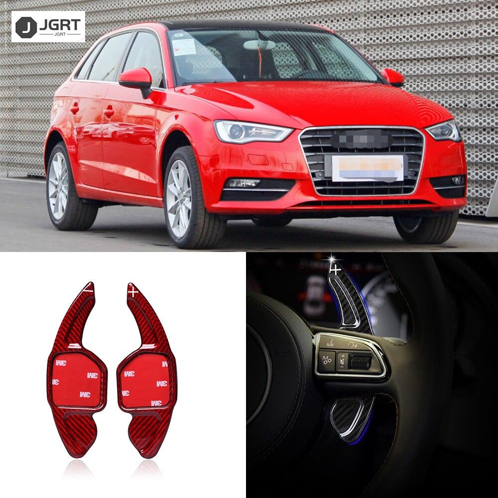 Cubierta embellecedora de palanca de cambio de dirección de coche para Audi A3 A4L A7 R8 Q3 Q7 TT