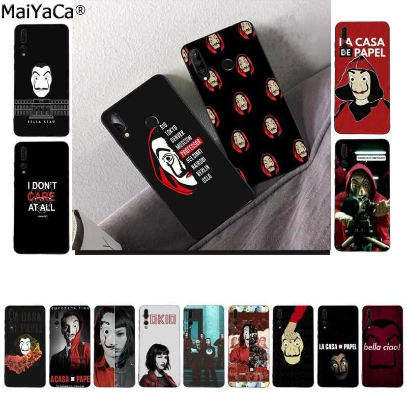MaiYaCa, Испания, ТВ, ла, Каса де papel, мягкий TPU телефон, чехол для Huawei P10 lite P20 pro P20lite P30 pro mate 20 pro mate20 lite
