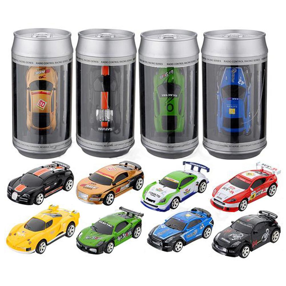Hot Sale Mini 1:58 Coke Can RC Radio Remote Control Race Racing Electronic Car Toy High speed Vehicl