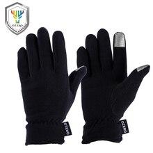 OZERO 100% флис ТЕРМО зимняя ручная одежда перчатки для холодной погоды вождение Пешие прогулки снег Бег Велоспорт 9003