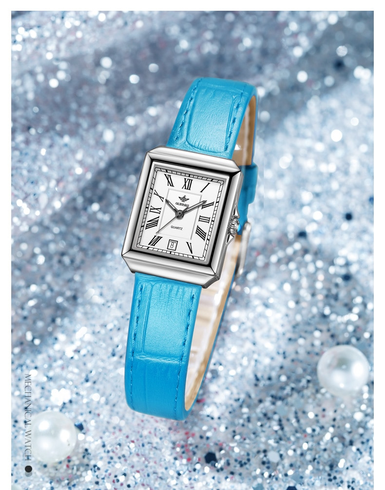 Ladies Watches 2021 Fashion Square Quartz Watch Waterproof Light Luxury Women's Watch Women Wristwatch enlarge