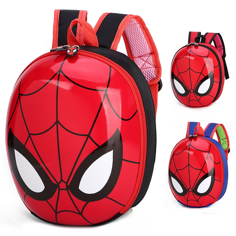 Nuevos vengadores diseño de SpiderMan mochila modelo porque Prop mochila colección cartera regalo de juguetes para los niños