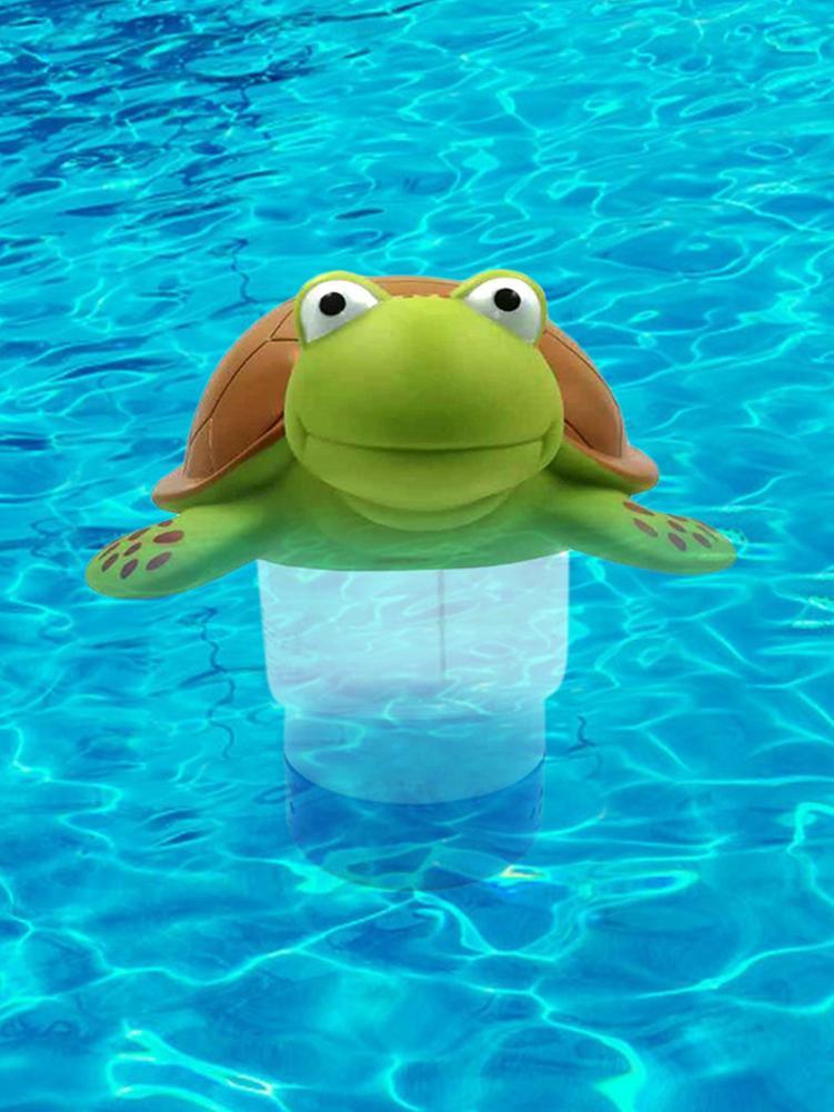 2020 piscina cloro flotador clorador de piscina vinilo flotante Animal piscina difusor dispensador de cloro